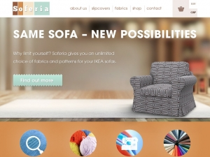 Soferia - modern and unique sofas covers